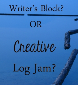 Is it writer's block or a creative log jam?