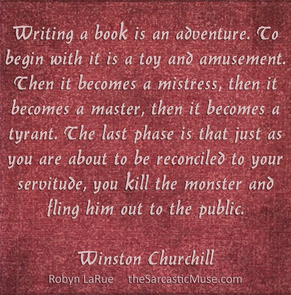 Writing is an Adventure