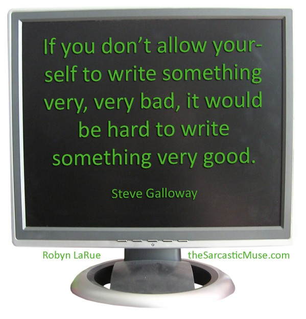 Be Willing to Write Crap